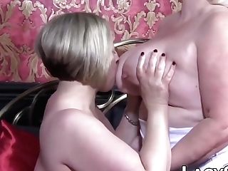 Gonzo Labia Eating Session With Brit Matures Honeys