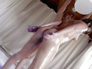 Crazy Lezzies Fuck Each Others Opened Up Rectal Crevices And Demonstrate Assfuck Tricks