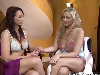 Horny Adult Movie Stars Julia Ann, Nikki Hunter In Fabulous Finger-tickling, Big Tits Fucky-fucky Movie