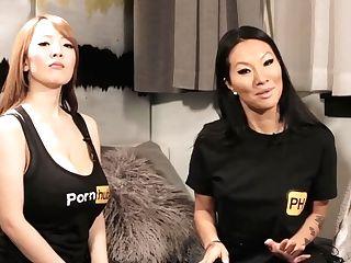 Hitomi Tanaka Instructs Asa Akira Dirty Japanese