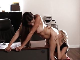 What You Need Is A Spanking - Silvia Saige And Emma Hix