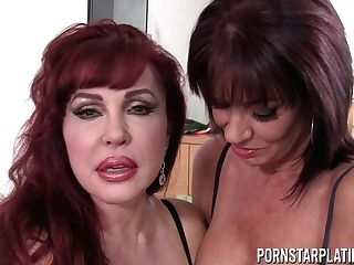Sexy Vanessa And Her Matures Gf Get Ultra-kinky