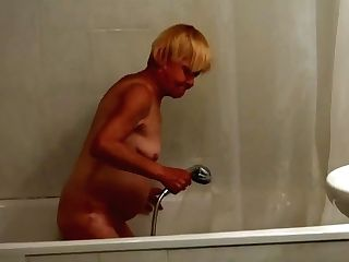Nice Old Granny Trains A Nubile To Masturbate