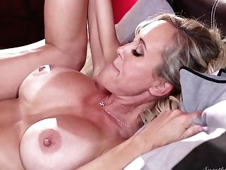 Blonde Brandi Love And Ajay Applegate Love Another Girl-on-girl Hookup Session For The Camera
