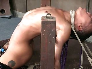 Crazy Mistress Is Penalizing Black Cunt Of Tied Up Hooker Nikki Darling