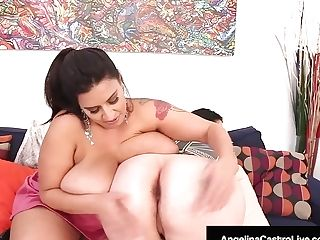 Big Titty Bbws Angelina Castro & Sofia Rose Masturbate!