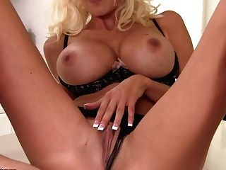 Huge-boobed Girly-girl Moms  Sandy, Anita Dark And Puma Swede