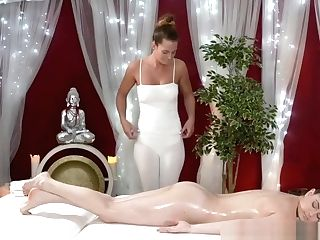 Very First Time Girl-on-girl Fucky-fucky For Youthful Teenage Cherry With Big Tits