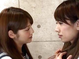 Exotic Japanese Whore Rin Kashiwagi, Maria Hanano, Ai Uehara In Crazy Puny Tits, Girl/girl Jav Scene