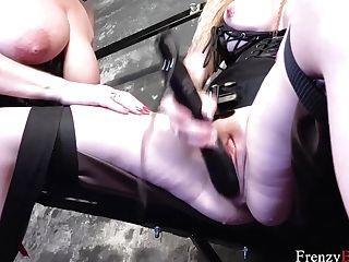 Frenzybdsm Three Dolls Into Tying And Sadism & Masochism