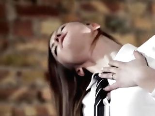 Aggressive School Woman With Strap-on Is All The Rage